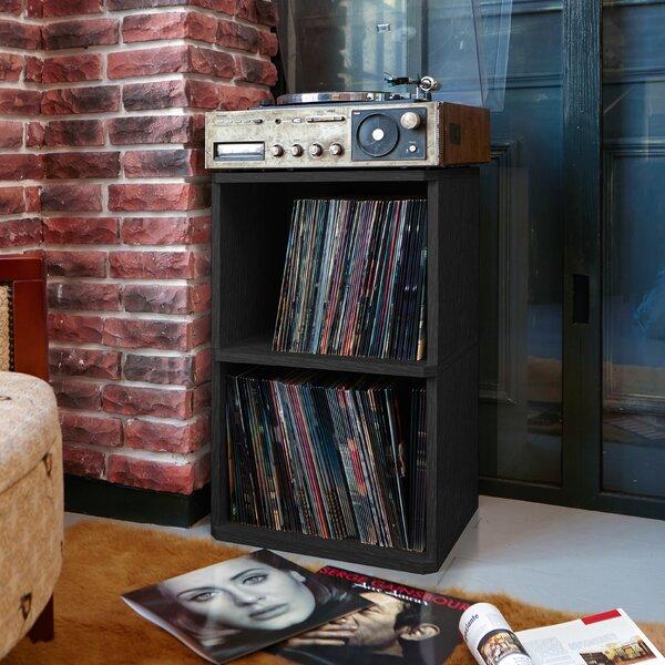 Vinyl Record Storage Cabinet Wayfair
