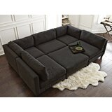 Chelsea 120 Symmetrical U-Shaped Component Sectional by Home by Sean & Catherine Lowe