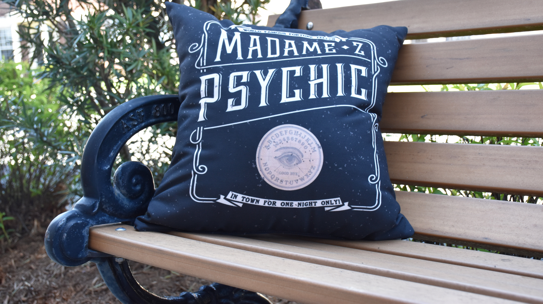 The Holiday Aisle Maser The Psychic Eye Halloween Outdoor Throw Pillow Wayfair