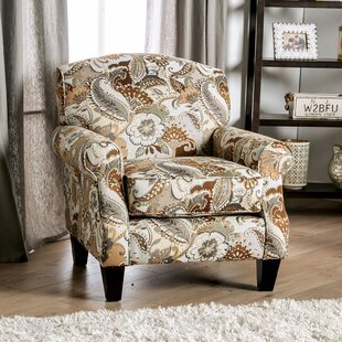 Stowmarket Floral Armchair by Alcott Hill