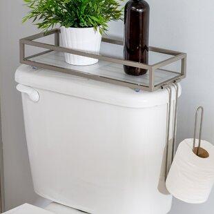 Merveilleux Toilet Tank Mount Storage Toilet Paper Holder
