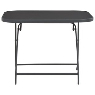 Arzola Folding Steel Dining Table By Sol 72 Outdoor