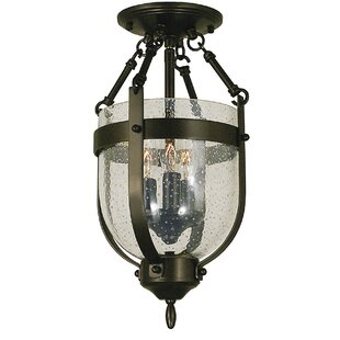 Framburg Hannover 3-Light Semi Flush Mount