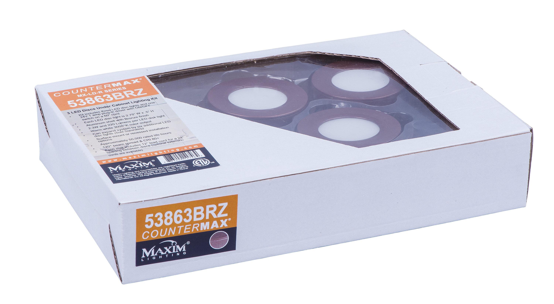 Maxim Lighting CounterMax Under Cabinet Disc Puck Light   Wayfair