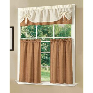 Sunrise Kitchen Valance and Tier Set by Dainty Home