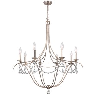 Metro 8-Light Chandelier b..