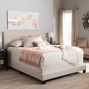 Fazio Upholstered Panel Bed by Wrought Studio