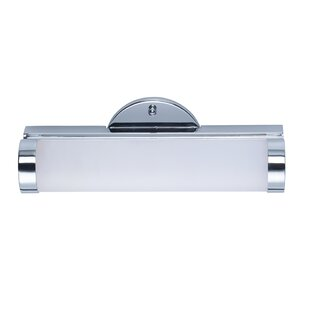 Best Reviews Cauley 1-Light LED Vanity Light By Latitude Run