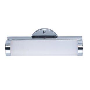 Price comparison Cauley 1-Light LED Vanity Light By Latitude Run