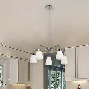 Ebern Designs Bice 5-Light Shaded Chandelier