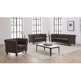 Ileana 3 Piece Standard Living Room Set (Set of 3) by Red Barrel Studio®