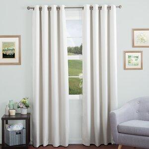 Kokomo Solid Blackout Grommet Single Curtain Panel