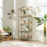 Hosea Etagere Bookcase by Everly Quinn