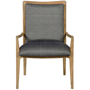 Caius Upholstered Dining Chair by Noir
