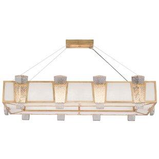 Fine Art Lamps Crownstone 16-Light Kitchen Island Pendant