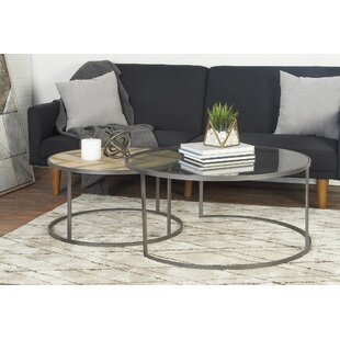 Orkney Contemporary 2 Piece Coffee Table Set by Union Rustic