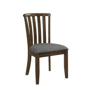 Barlowe Meniscus Wooden Dining Chair (Set of 2)