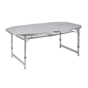 Demars Folding Aluminium Camping Table By Sol 72 Outdoor
