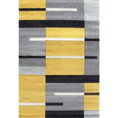 Yellow Amp Gold Geometric Rugs You Ll Love Wayfair Co Uk