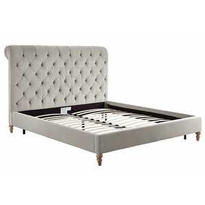 Lotte Upholstered Platform Bed by Willa Arlo Interiors