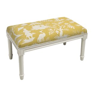 Aurik Chinoiserie Wood Bench by House of Hampton Best #1
