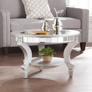 Jocelyn Mirrored Coffee Table by Willa Arlo Interiors