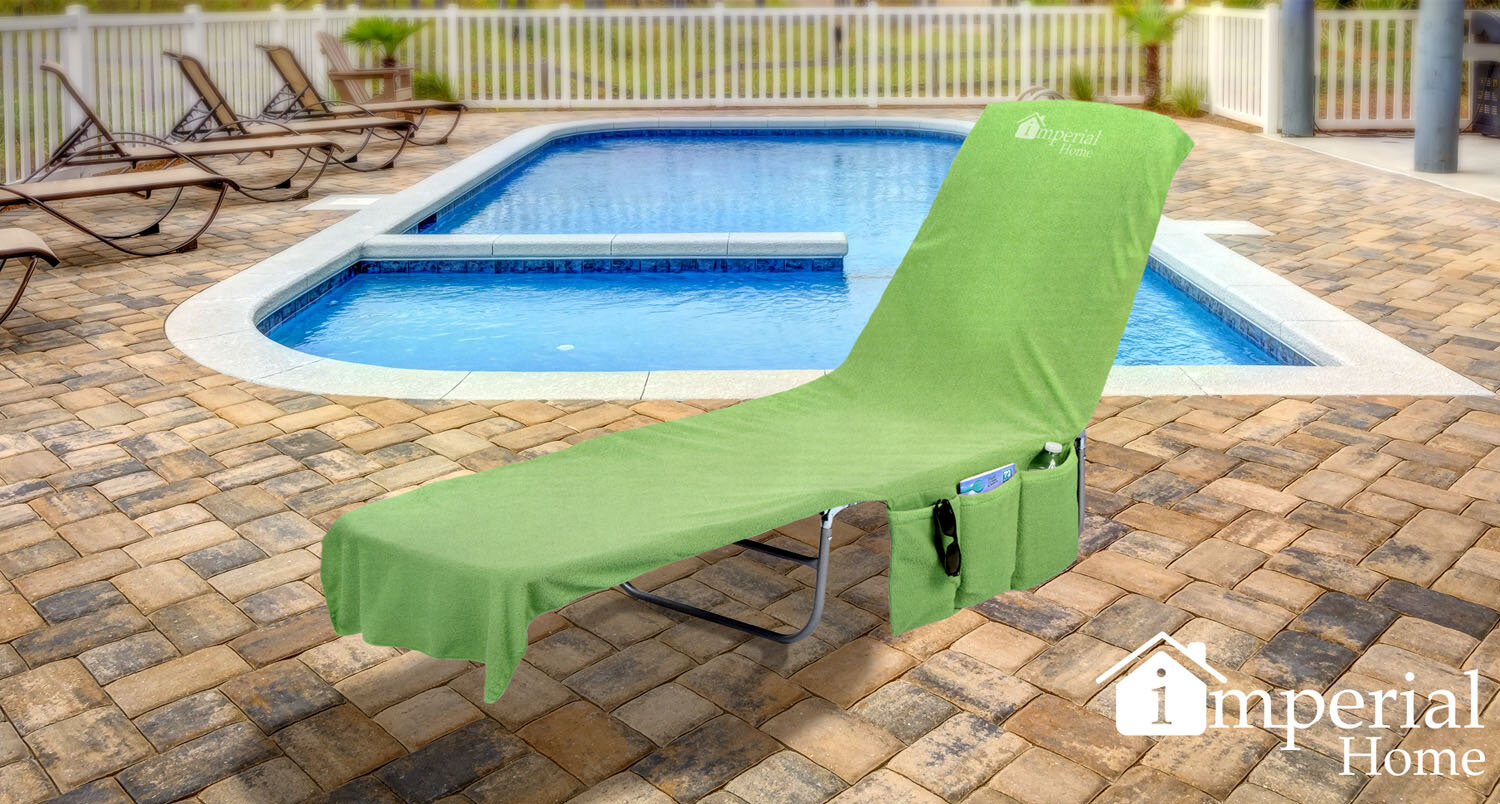 Freeport Park 2 In 1 Terry Cloth Chaise Pool Lounge Cover Beach Towel And  Tote With Pockets U0026 Reviews | Wayfair