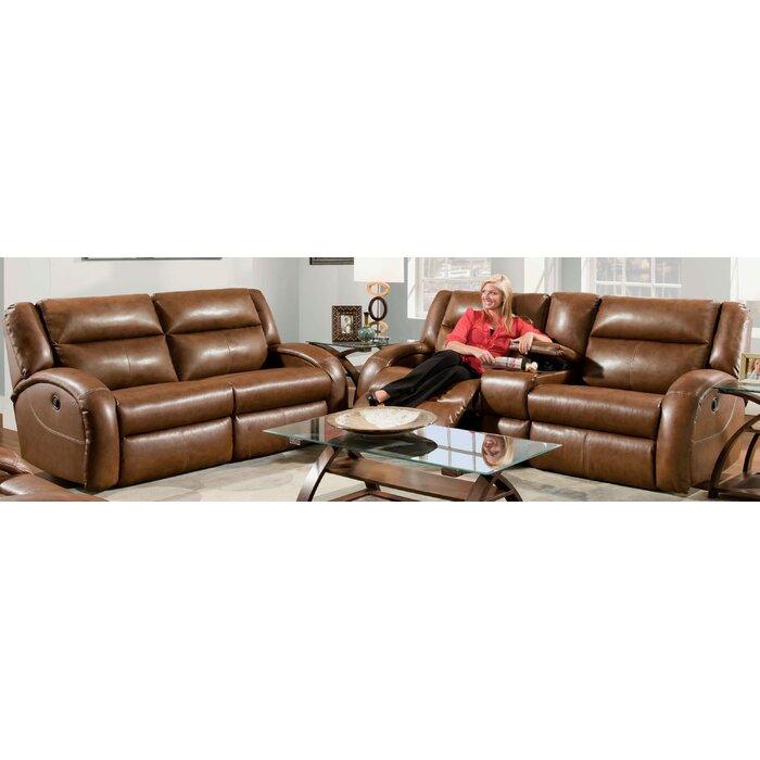Marvelous Maverick 2 Piece Leather Reclining Living Room Set Inzonedesignstudio Interior Chair Design Inzonedesignstudiocom
