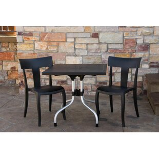 Ebern Designs Slezak Patio 3 Piece Bistro Set