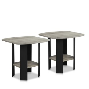 Online Reviews Alastair Simple End Table (Set of 2) By Winston Porter