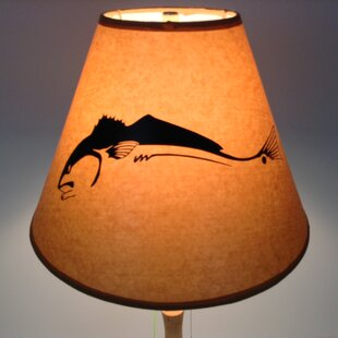 Redfish 12 Paper Empire Lamp Shade