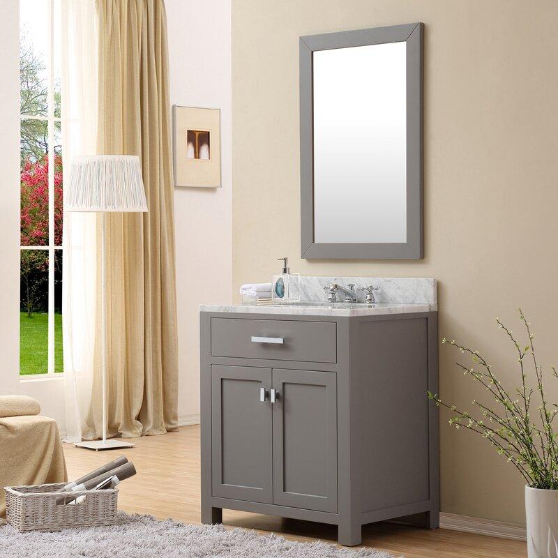 Incredible Minnetrista 30 Single Bathroom Vanity Set With Mirror Download Free Architecture Designs Scobabritishbridgeorg