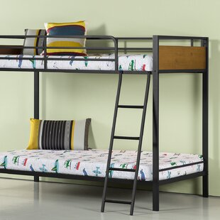 Castillon Twin Bunk Bed by Harriet Bee