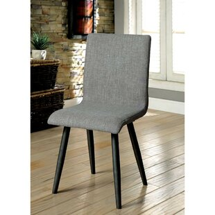Kipp Upholstered Dining Chair (Set of 2) Wrought Studio