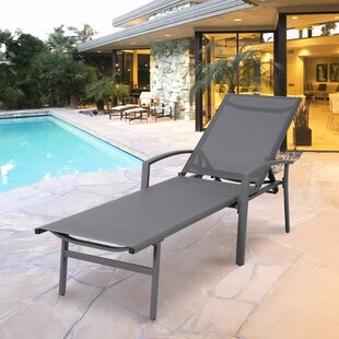 Sertoma Outdoor Chaise Lounge