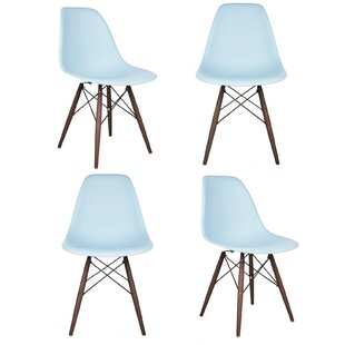 Langley Street Harrison Matte Solid Wood Dining Chair (Set of 4)
