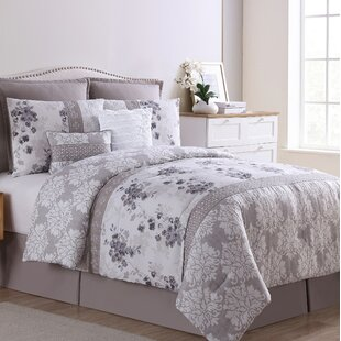 Frazer Home Willa 8 Piece Comforter Set