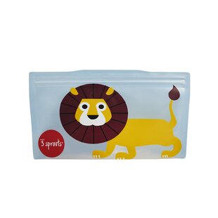 3 Sprouts Lion Snack Bag (Set of 2)