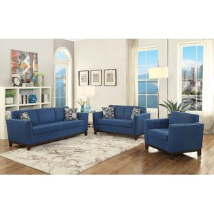 Latitude Run Milana Configurable Living Room Set