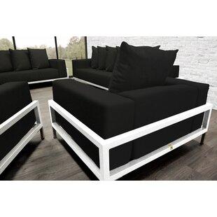 Orren Ellis Tilly Patio 4 Piece Sofa Set With Cushions