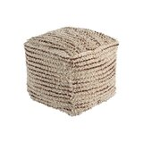 Vanig 16'' Square Cube Ottoman by Bungalow Rose