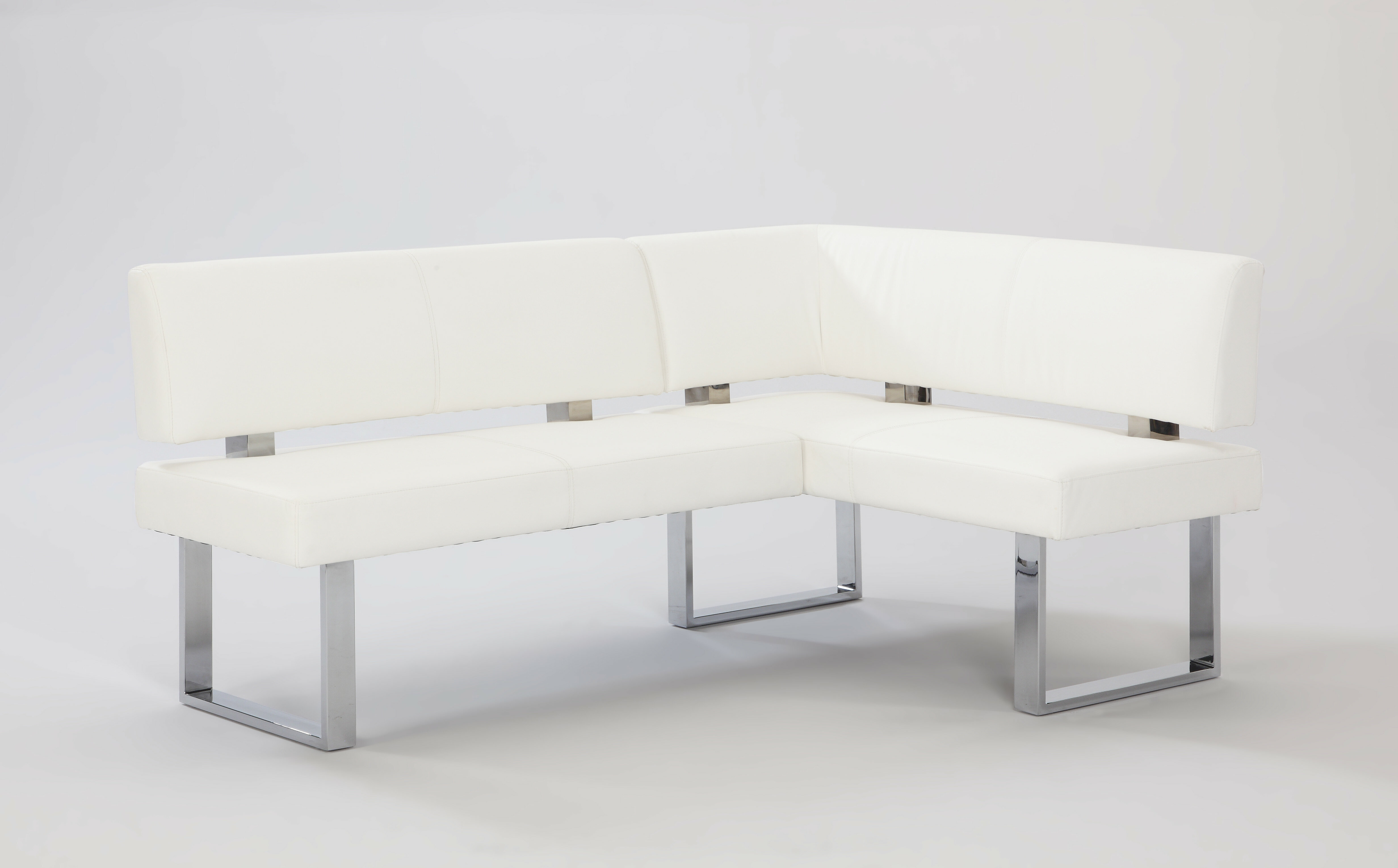 Linden Upholstered Faux Leather Bench
