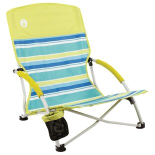 Deluxe Folding Beach Chair by Coleman