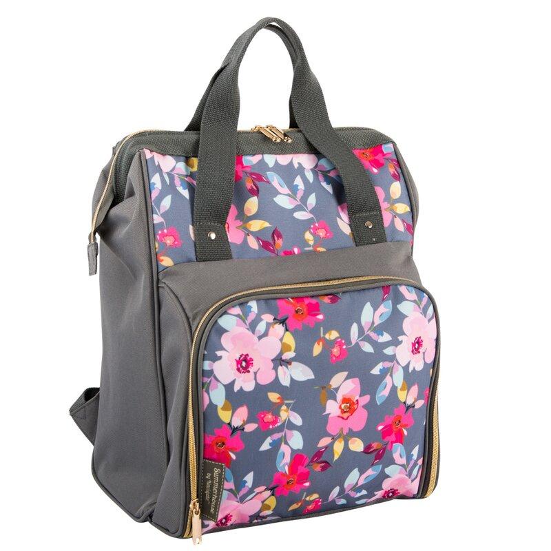 Summerhouse Gardenia Picnic Backpack Reviews Wayfair Co Uk