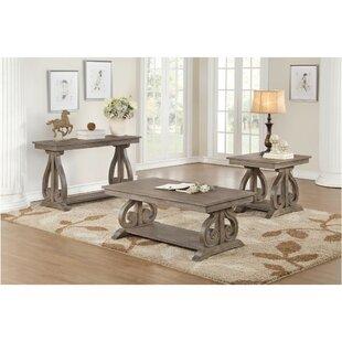 Price Check Harrison 3 Piece Coffee Table Set ByOne Allium Way