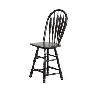 Lozano 24 Swivel Bar Stool by Darby Home Co