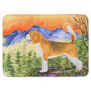 Beagle Memory Foam Bath Rug