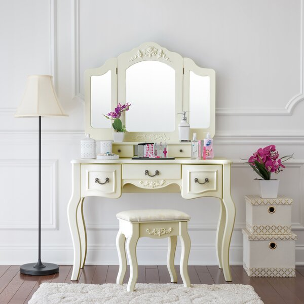 Acrylic Vanity Table | Wayfair