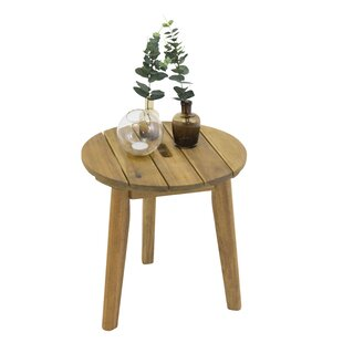 Beatrice Wooden Side Table By Fjørde & Co