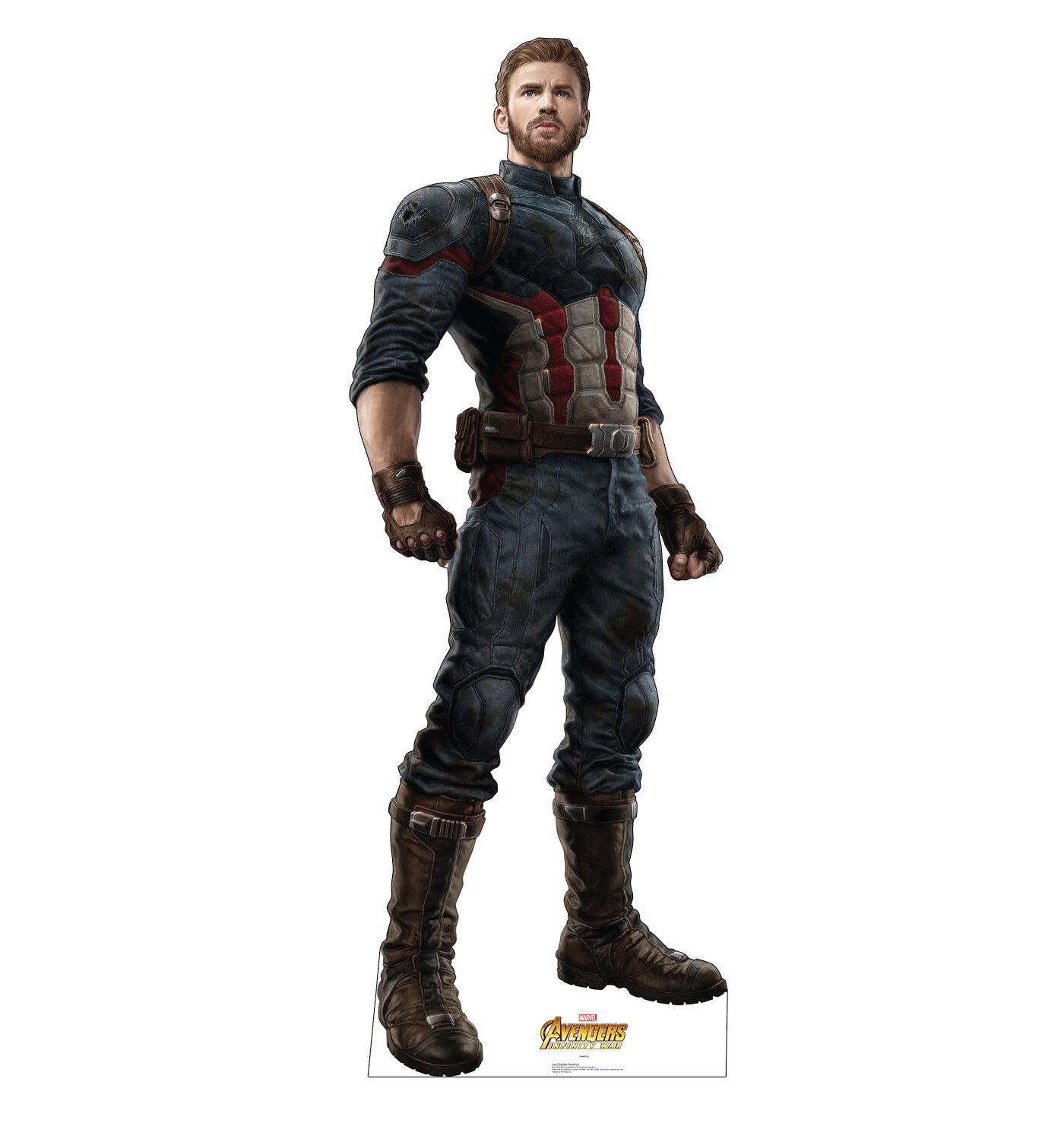 Advanced Graphics Avengers Infinity War Captain America Standup ... 85b3029b1e2b